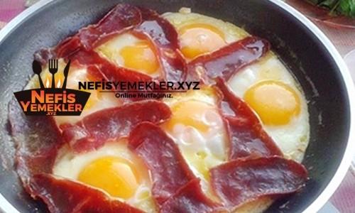 Pastırmalı Yumurta Tarifi