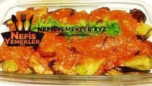Domatesli Patlıcanlı Biber Kızartması Tarifi