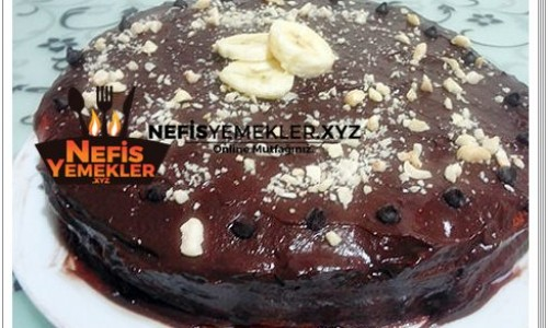 Çikolatalı Muzlu Pasta Tarifi